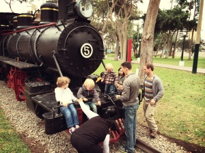 boys and trains...
