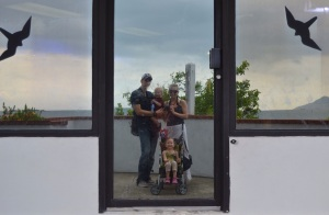 Family mirror shot