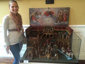 This was an amazing figurine set of the story of Christ