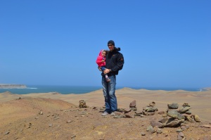 John and Livi on Mars Hill