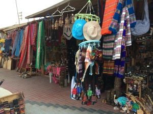 Stalls of artesnal items