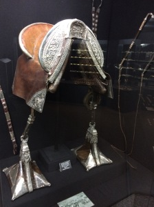 Silver horse saddle - thought of my sister, Ivy!