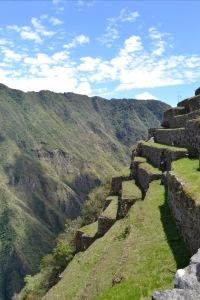The backside of Machu Picchu