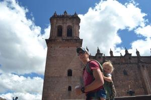 At the Plaza de Armas