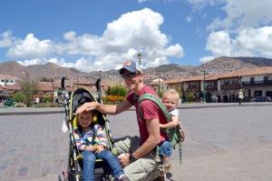 In the Plaza de Armas