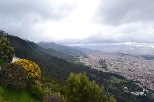 View of Bogotá