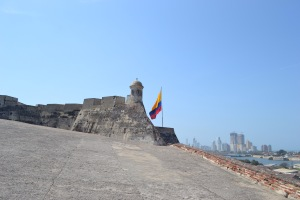 The top of the fort