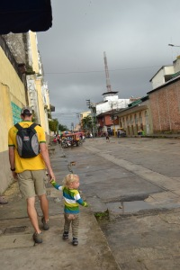 Walking in Iquitos