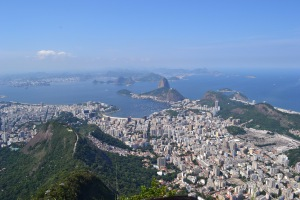View from the top of Mount Corcovado